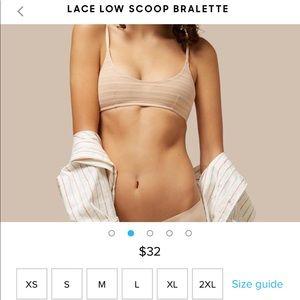 7cefe98ecb1c0 MeUndies Intimates   Sleepwear - NEW MeUndies Lace Low Scoop Bralette! 🆕